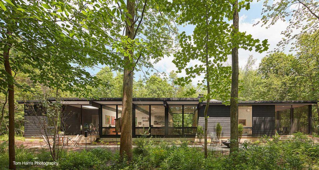 Custom Woodland Home